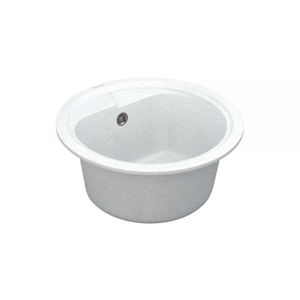 Кухонна мийка   Polo PMR 01.44 White stone + сифон