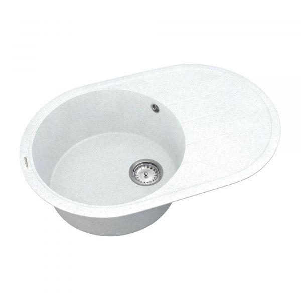 Кухонна мийка   Sity SMO 02.78 White stone + сифон